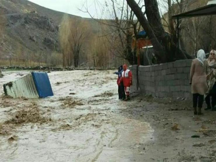 مصرع 17 بينهم 3 أطفال في سيول اجتاحت إيران