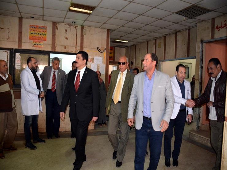 محافظ القليوبية يتفقد مستشفى طوخ المركزي ويكلف ببدء أعمال الهدم