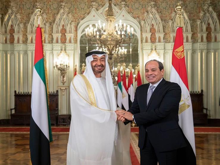 الرئيس السيسي يستقبل ولي عهد أبو ظبي خلال ساعات