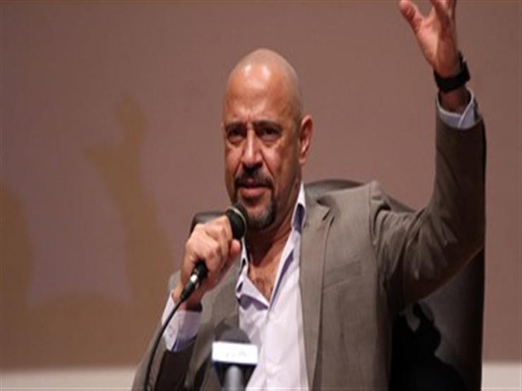 """ صورة  أشرف عبد الباقي في المنيا لعرض """"جريما في المعادي"""""""