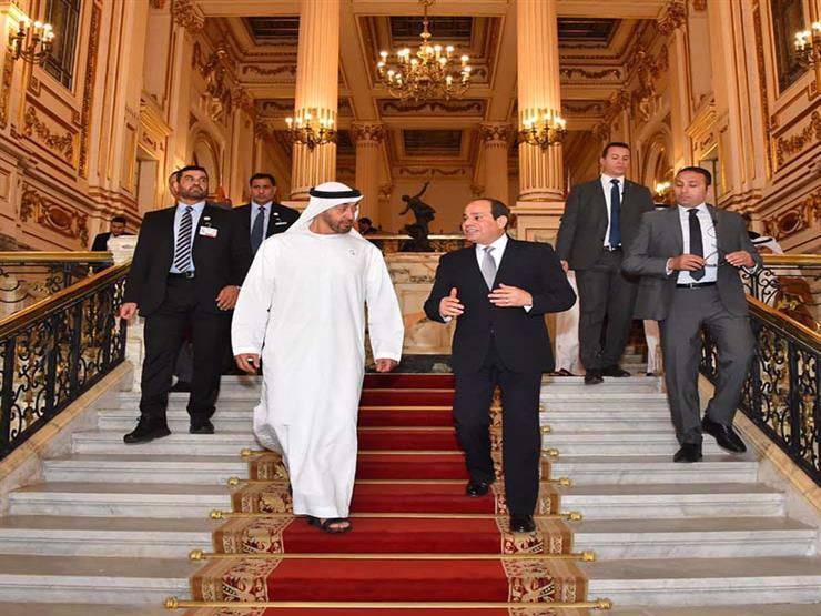 الرئيس السيسي يتلقى اتصالًا هاتفيًا من الشيخ محمد بن زايد