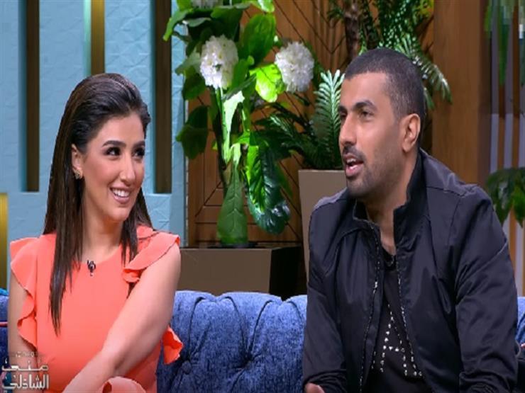 مي عمر تكشف عن موقف طريف مع زوجها بسبب الغيرة