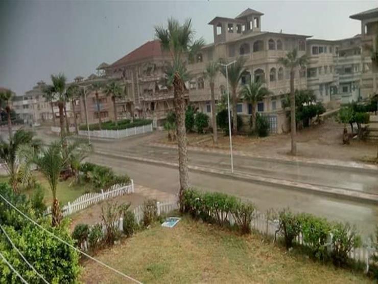 رياح شديدة في دمياط.. وتوقعات بهطول أمطار غزيرة