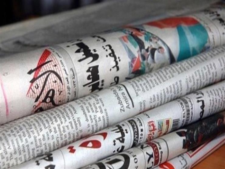 جولة السيسي وبن زايد بالعلمين وانتهاء جلسات التعديلات الدستورية أبرز عناوين الصحف