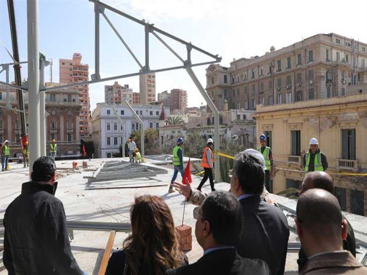 """""""الآثار"""": انتهاء ترميم المتحف اليوناني الروماني يونيو المقبل"""