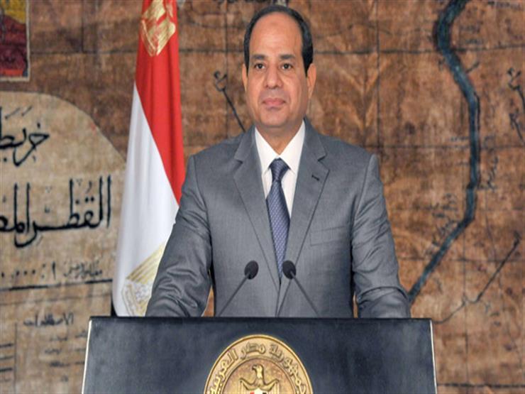 السيسى: تحية لكل شهيدٍ ضحى بروحه فأحيا الوطن وظلّ حياً في قلوب المصريين