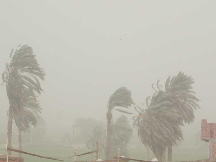 عاصفة ترابية تضرب بني سويف.. والمحافظة ترفع درجة الاستعداد