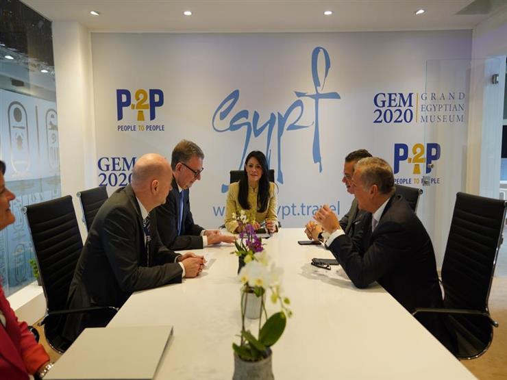 وزيرة السياحة تلتقي رئيس اتحاد الشركات الألمانية في بورصة برلين
