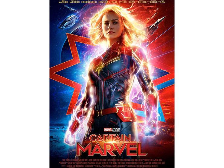 """إيرادات السبت.. """"Captain Marvel"""" في الصدارة و""""Escape Room"""" بالمركز الثاني"""