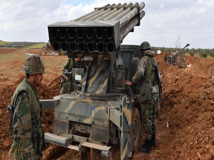 """الجيش السوري يقصف مواقع لـ""""النصرة"""" في ريف إدلب الجنوبي"""