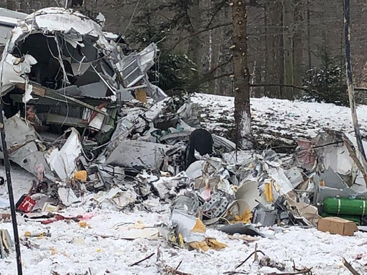 مصرع 12 شخصا جراء تحطم طائرة في كولومبيا