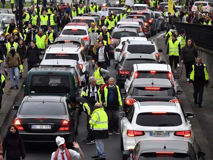 """مدينتا ليون ونانت مركزا تظاهرات السبت السادس والعشرين """"للسترات الصفراء"""""""