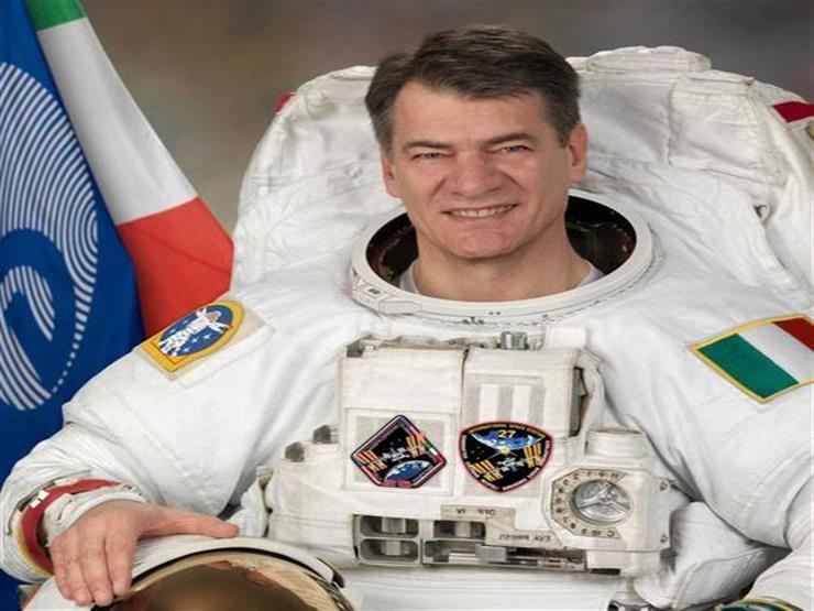 رائد فضاء إيطالي: سعيد برؤية الأهرامات لأول مرة من الأرض