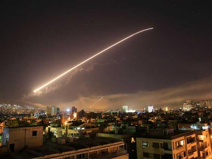 Israeli shelling of positions of the Syrian army in Hama