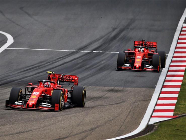 """""""أوامر فريق فيراري"""" تقود إلى الفشل في سباق فورمولا-1 رقم 1000"""