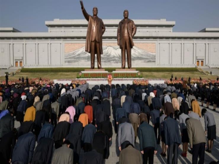 يوم الشمس في بيونغ يانغ احتفالا بذكرى ميلاد كيم إيل سونغ