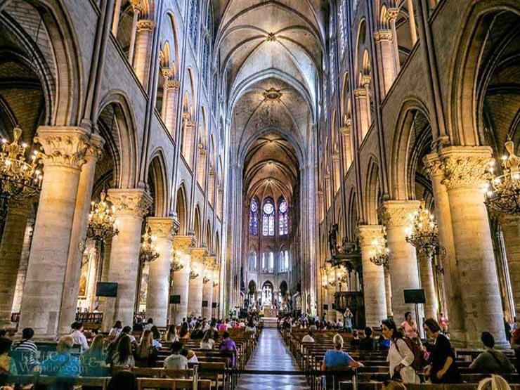 كاتدرائية نوتردام تحتفل السبت بأول قدّاس بعد الحريق