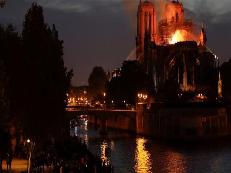 رئيس المجلس الأوروبي عن حريق نوتردام: كلنا مع باريس اليوم