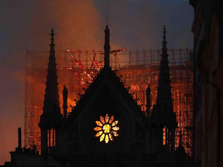 """""""حريق نوتردام"""".. ماذا حدث؟"""