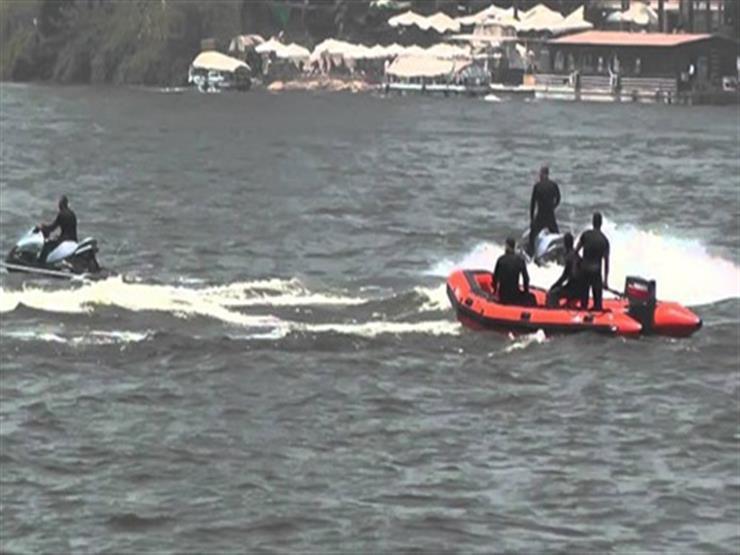 يمر بظروف سيئة.. إنقاذ شاب أفريقي ألقى نفسه في نهر النيل