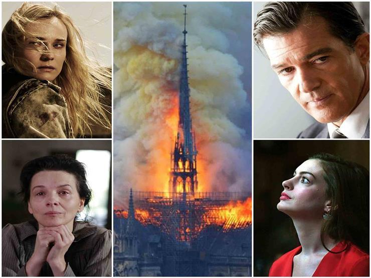 """""""أحدهم حمل قلبًا يحترق وأخرى تغزلت في باريس"""".. تعليقات نجوم هوليوود على حريق نوتردام"""