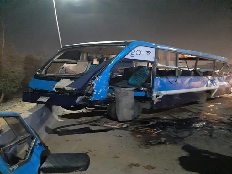 حادث مروع أعلى الدائري ومصرع 5 وإصابة 16