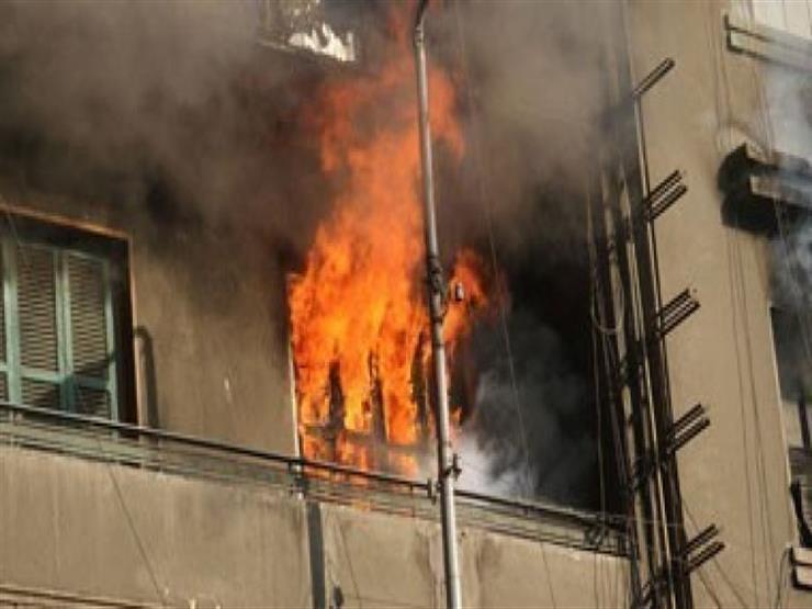 """حريق في شقة بـ""""حلمية الزيتون"""" دون إصابات"""