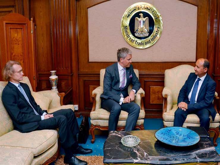 وزير الصناعة يبحث إمكانية عقد شراكات مع إستونيا للتصدير إلى أفريقيا