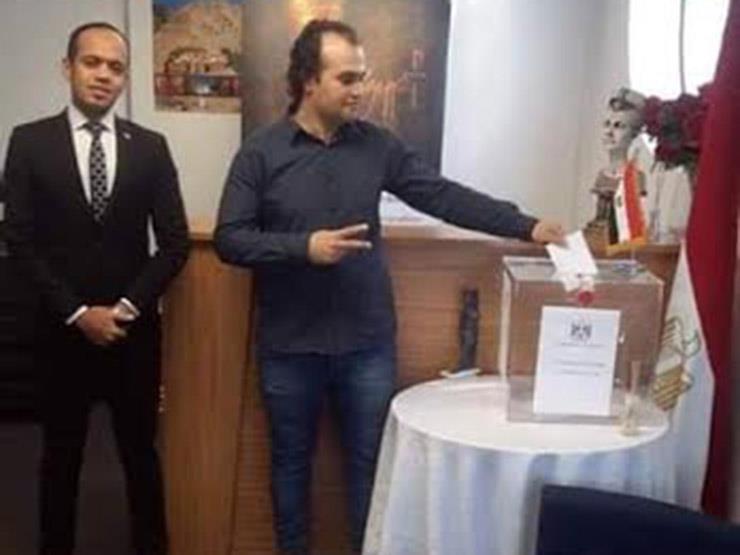 الصور الأولى لتصويت المصريين على التعديلات الدستورية بنيوزيلندا