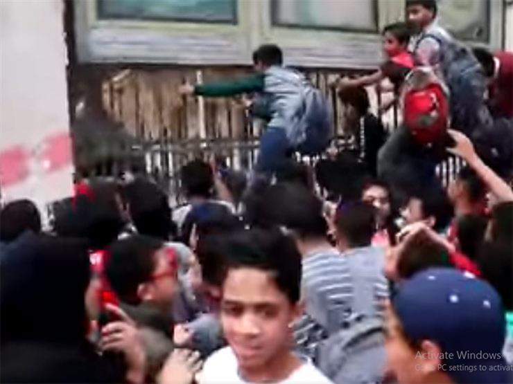 ماذا فعل طلاب بمدرسة السعيدية من أجل محمد رمضان؟ (فيديو)