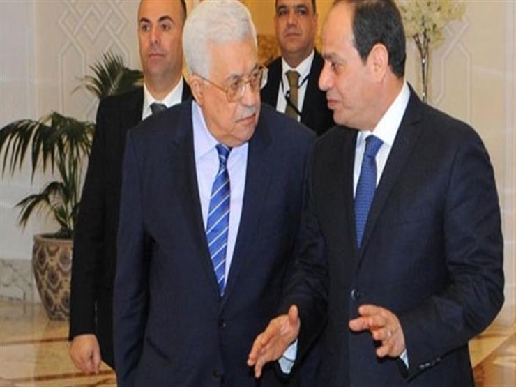 """غدًا.. """"أبو مازن"""" يلتقي السيسي ويشارك في اجتماع وزراء الخارجية العرب"""