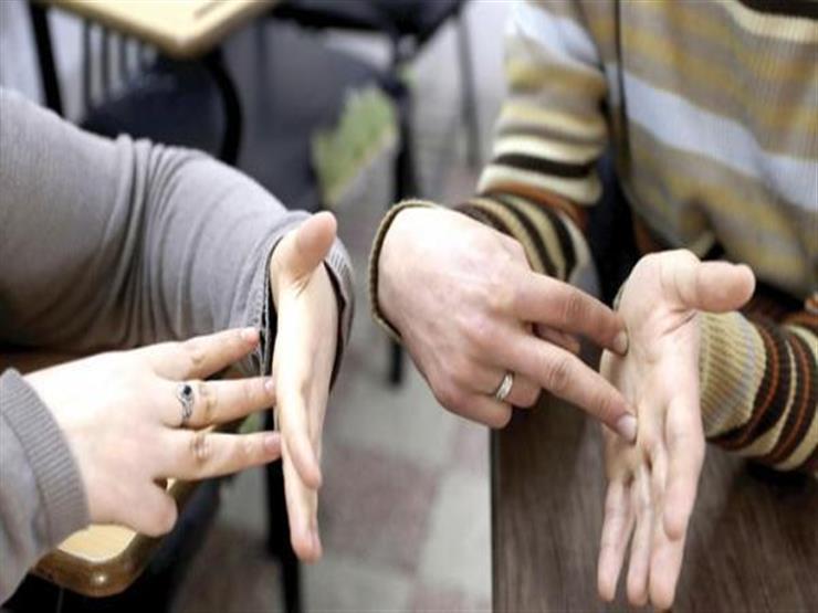 """""""بلغة الإشارة وبرايل"""".. ترجمة التعديلات الدستورية للطلاب ذوي الاحتياجات الخاصة"""