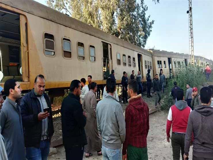 مصرع وإصابة 3 أشخاص في حوادث قطارات متفرقة ببني سويف
