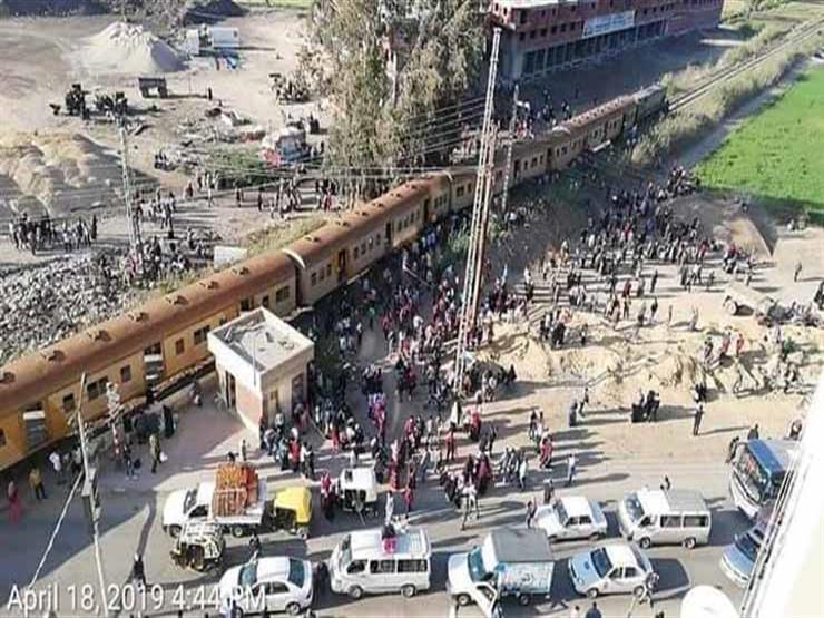 أول قرار للنيابة بشأن حادث قطار كفر الشيخ