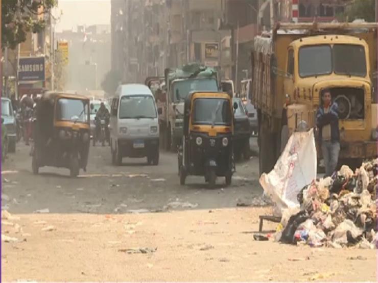 """""""جمع القمامة وافتتاح محطات مياه"""".. محافظة الجيزة تعِد بحل مشكلات المواطنين"""