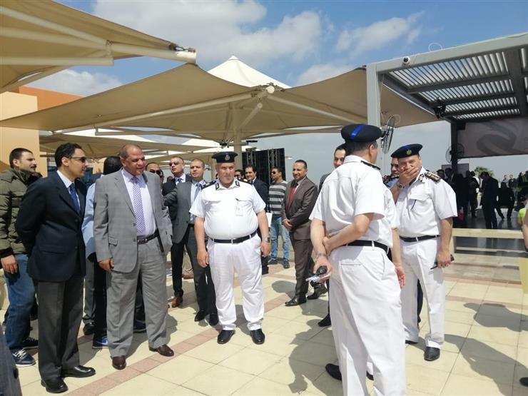غرفة علميات في مطار القاهرة لمتابعة لجان الاستفتاء