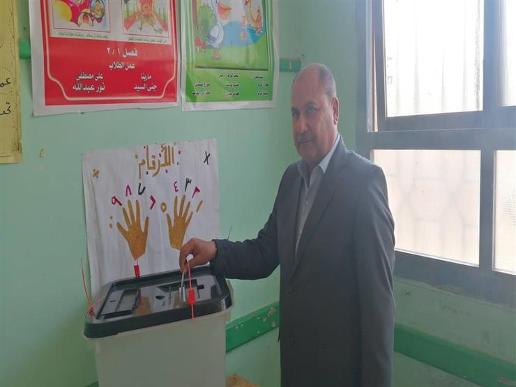 السكرتير العام المساعد بالشرقية يُشارك في استفتاء التعديلات الدستورية