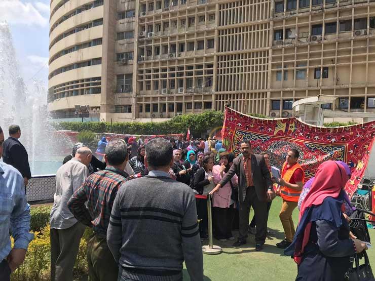 زحام بلجنة استفتاء العاملين بماسبيرو والأعلى للإعلام على التعديلات الدستورية