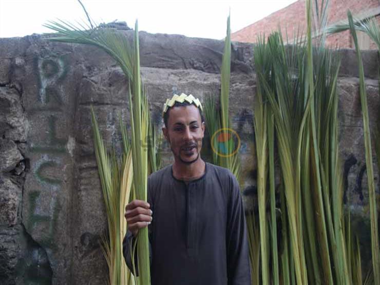 25 صورة ترصد احتفالات الأقباط بأحد السعف بدير سمعان الخراز بالمقطم