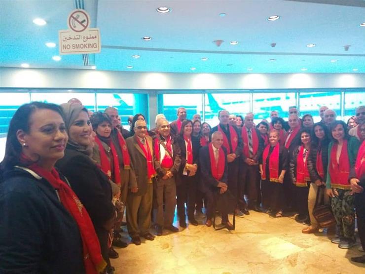 600 حاج قبطي يغادرون مطار القاهرة متجهين إلى القدس