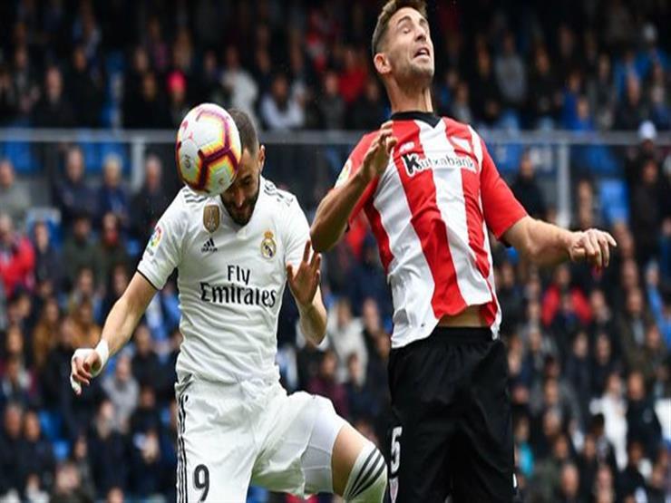 هاتريك بنزيمة يقود ريال مدريد لتخطي بلباو بثلاثية في الليجا