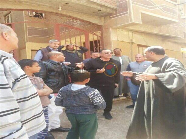 محمود الخطيب يشارك في الاستفتاء على التعديلات الدستورية بالدقهلية