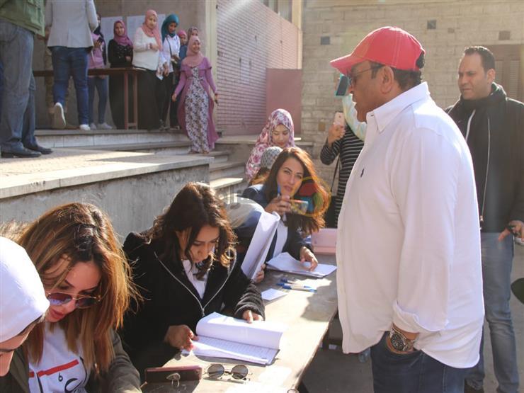محمد فؤاد: أصررت على القدوم من دبي للمشاركة في الاستفتاء