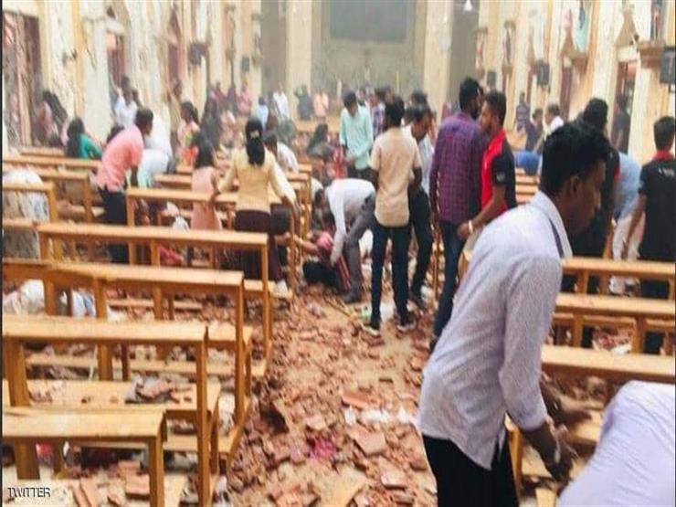 انفجاران يستهدفان كنيستين أثناء الاحتفال بقداس الفصح في سريلانكيا