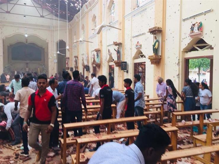 20 قتيلا وأكثر من 280 مصابا في انفجارات استهدفت فنادق وكنائس سريلانكا