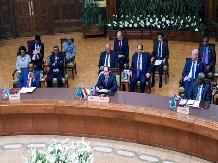 في ختام قمة السودان.. السيسي: توافق على الحاجة العاجلة لإرساء نظام ديمقراطي