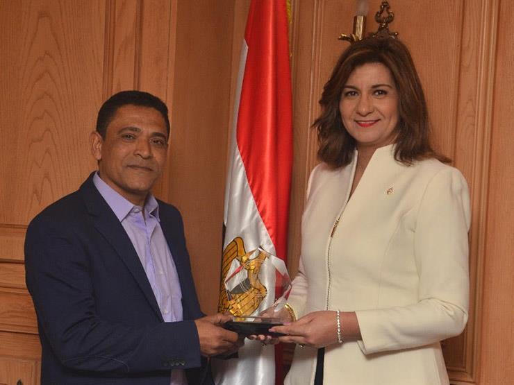 """وزيرة الهجرة تطلق مبادرة """"مصر تستطيع بالاجتهاد"""""""