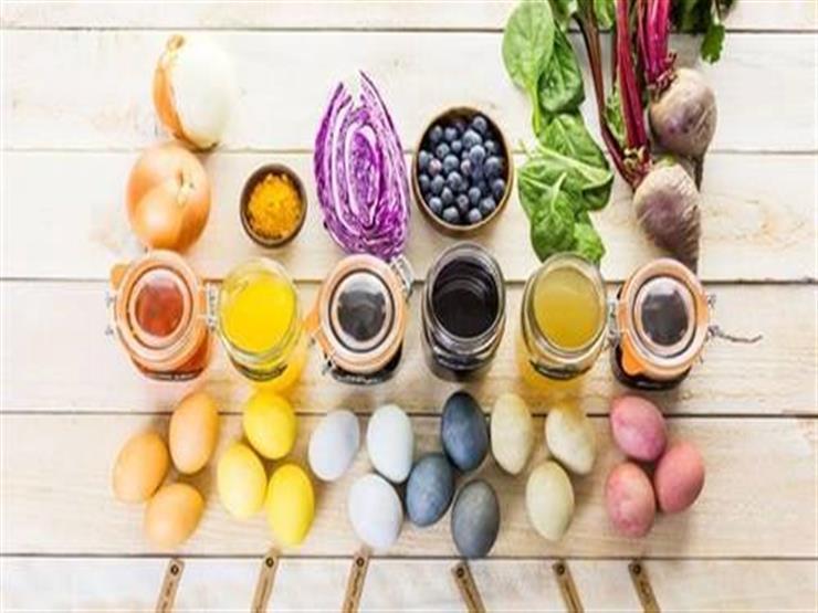 بالشاي والبنجر.. 3 طرق صحية لتلوين بيض شم النسيم