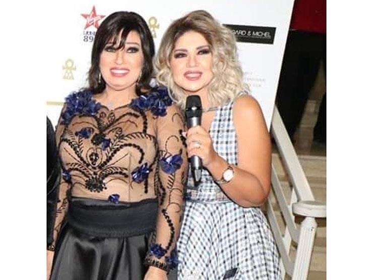 بوسي شلبي تهنئ فيفي عبده بعيد ميلادها