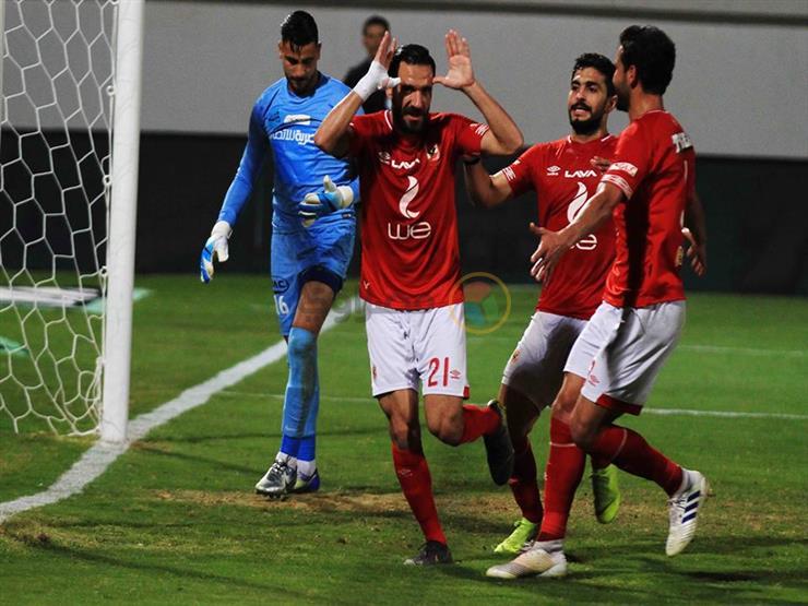 أهداف اليوم.. ثنائية الأهلي في المصري.. واكتساح دجلة للإسماعيلي
